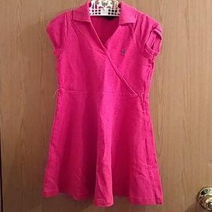 Pink Polo Dress